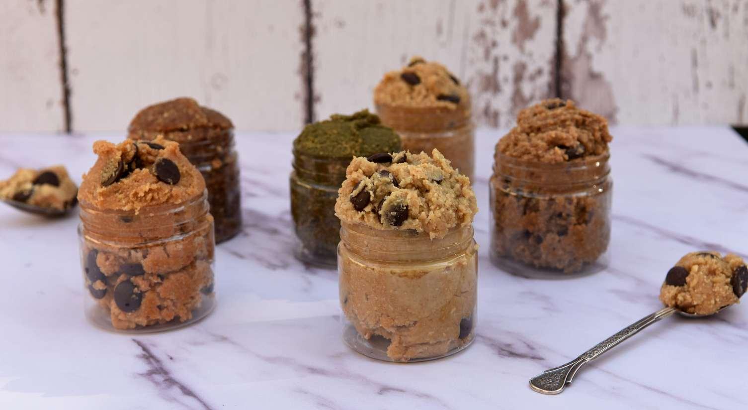 בצק עוגיות (100% אכיל) - משלוח מנות בריא