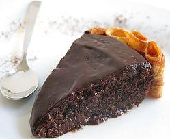 עוגת שוקולד קטיפה שחורה
