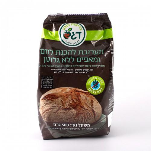 תערובת להכנת לחם ומאפים - דוכן גן שמואל