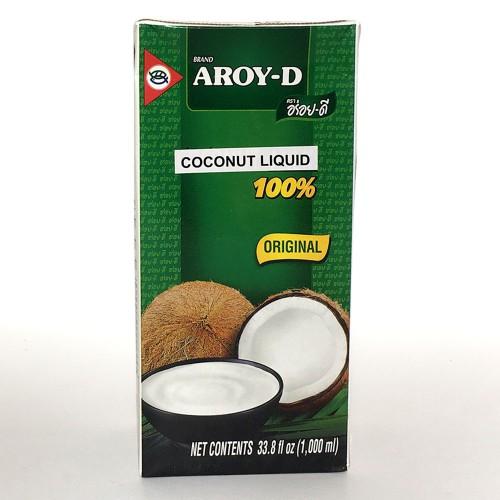 מי אגוז קוקוס, 1 ליטר, Aroy-D