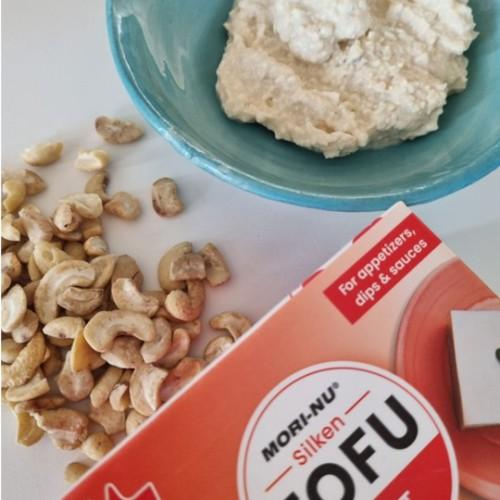 מתכון ממרח גבינת טופו וקשיו
