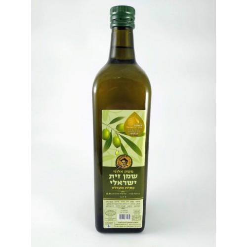 שמן זית ישראלי- משק אלוני- 1 ליטר