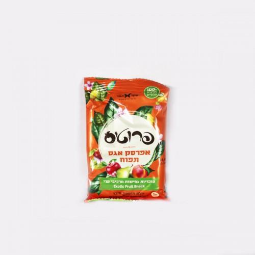 פרוטיס אפרסק אגס תפוח- סוכריות גמישות מרכיבי פרי
