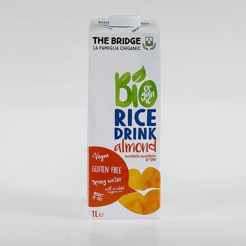 משקה אורז אורגני בתוספת שקדים - The Bridge