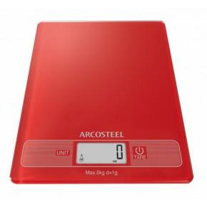 """משקל מטבח מלבני דיגיטלי עד 5 ק""""ג אדום"""