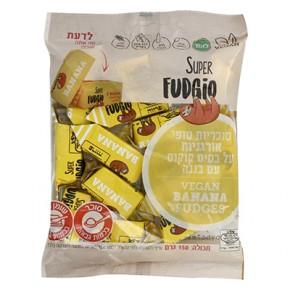 סוכריות טופי אורגניות בטעם בננה