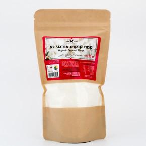 קמח קוקוס אורגני נא - שקד תבור