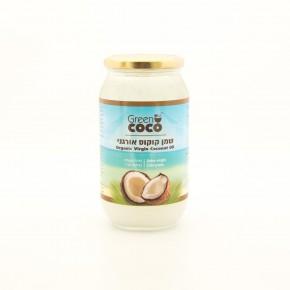 שמן קוקוס אורגני - Green Coco