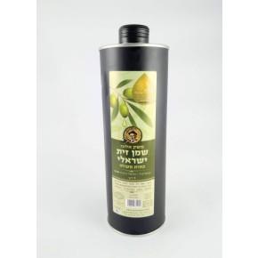 שמן זית ישראלי- משק אלוני-פחית 1 ליטר