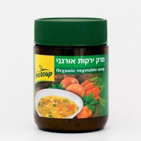 אבקת מרק ירקות אורגני