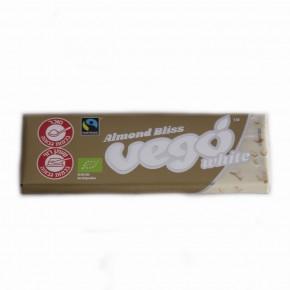שוקולד וגו לבן אורגני בתוספת שקדים