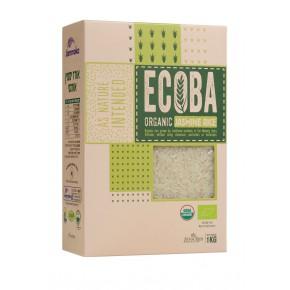 אורז יסמין אורגני ECOBA